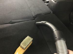 車内清掃 消臭