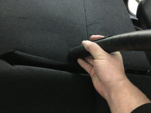 シンプル車内清掃