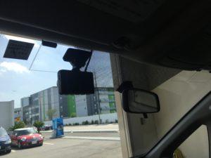 ヴォクシーのドライブレコーダー取付
