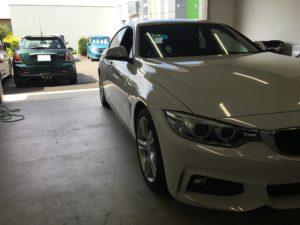 BMW420iウインドリペア