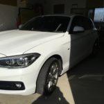 BMW118dクウォーターのデントリペア