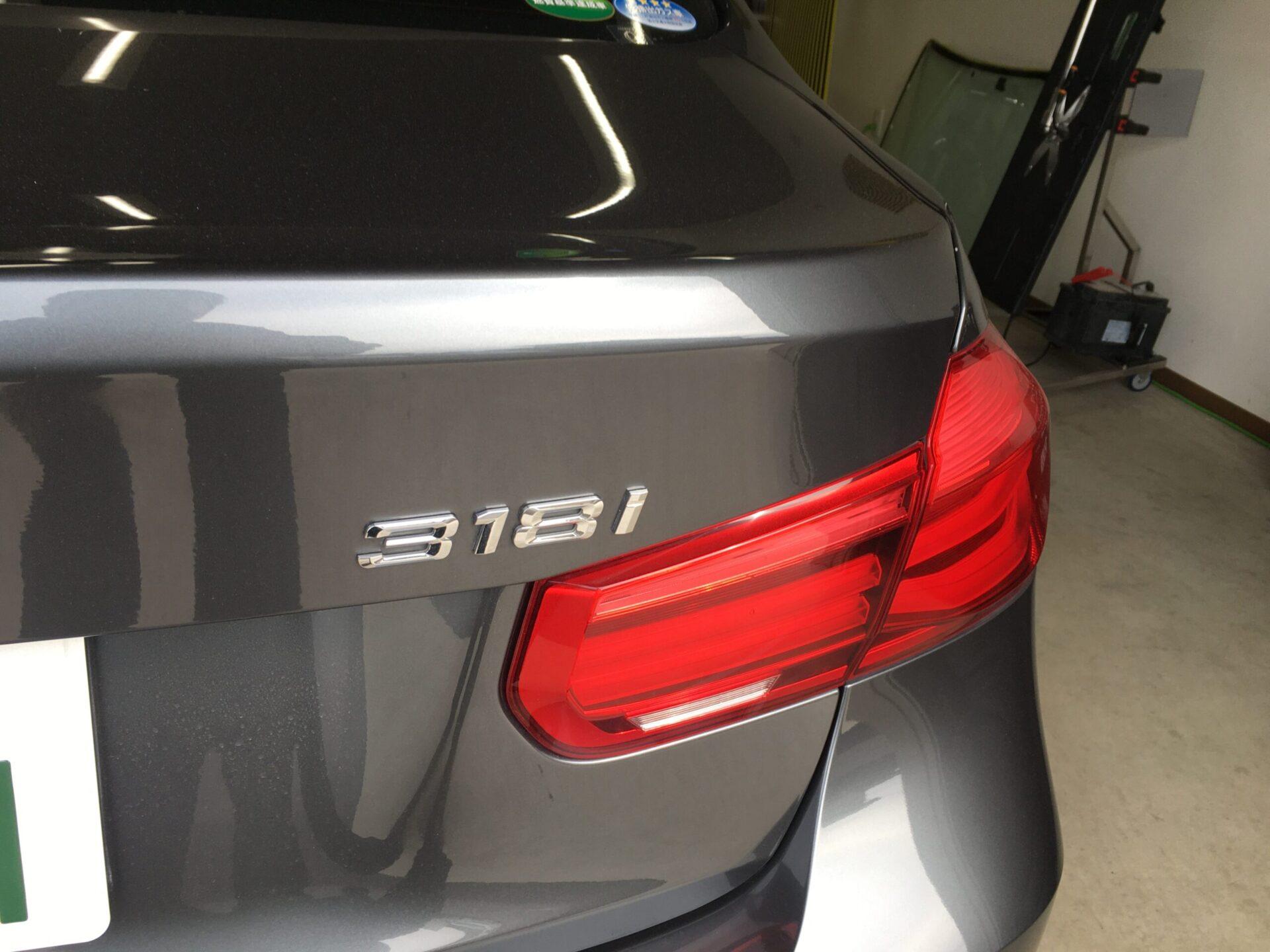 BMW3シリーズのデントリペア