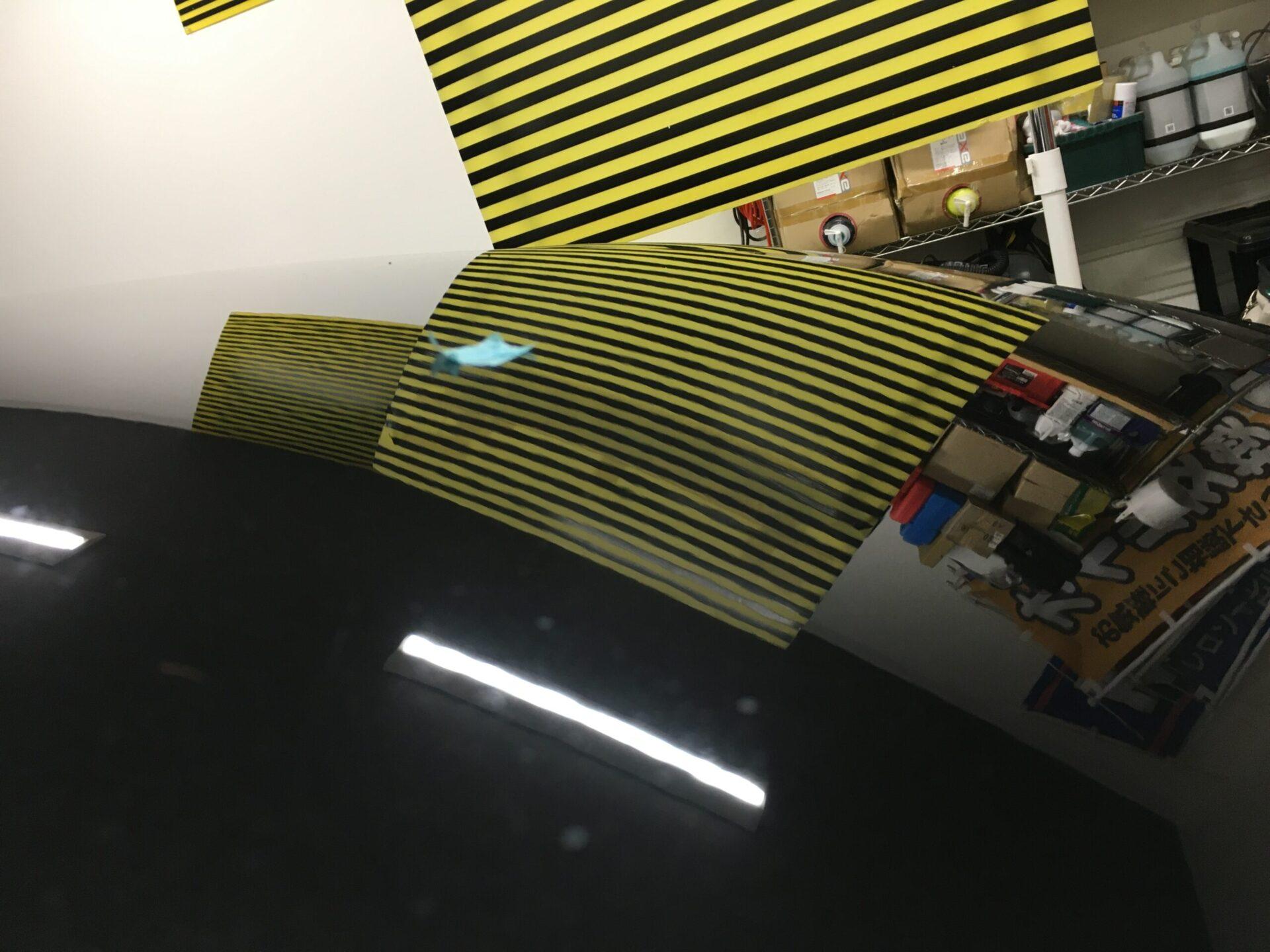 BMW4シリーズのウインドリペアとデントリペア