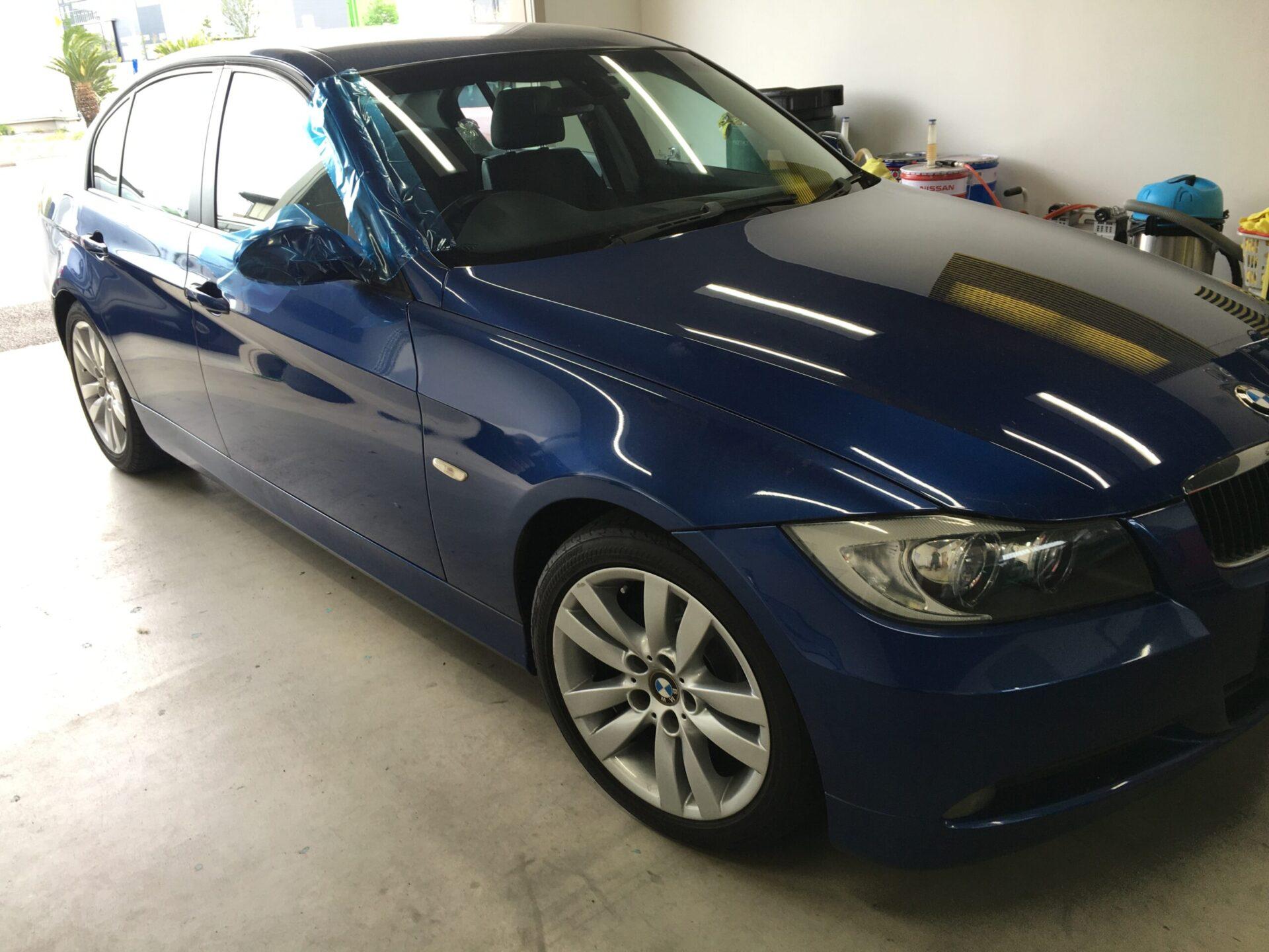 BMWのチッピングリペア