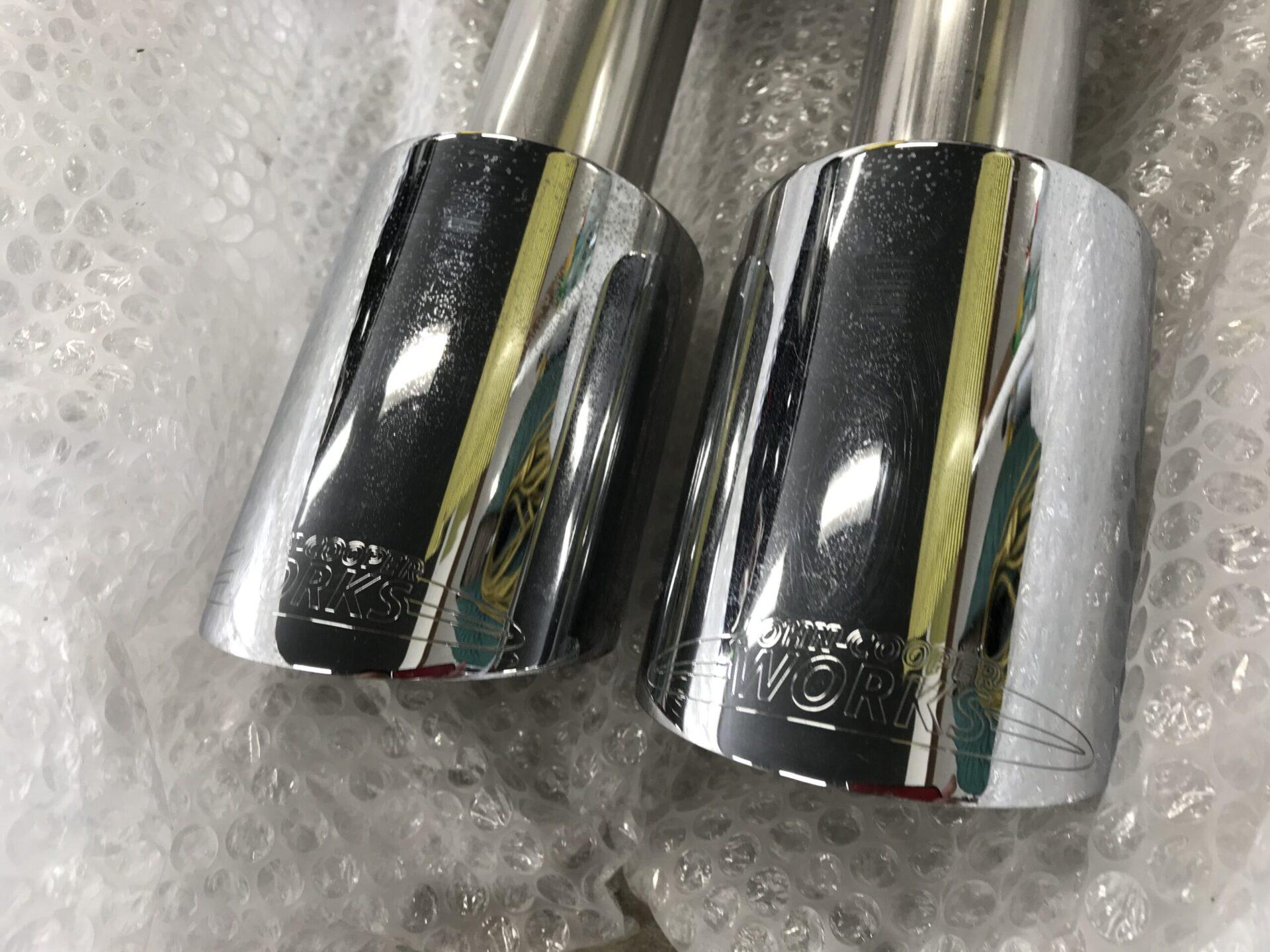 R56クーパーSのマフラー交換