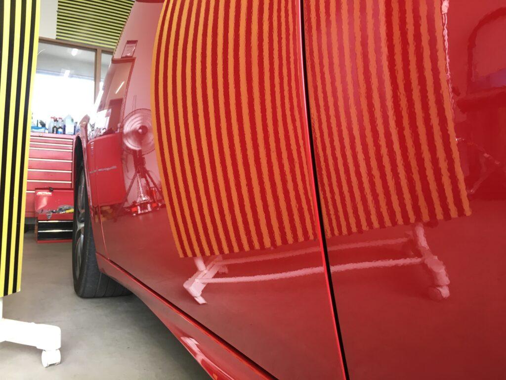 レクサスIS300の助手席をデントリペアアフター